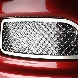 ACC® - Polished Laser Mesh SS Driving Light Covers