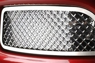 ACC® 042075 - Polished Laser Mesh Stainless Steel Driving Light Covers