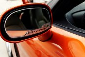 ACC® - GM Licensed Series Crossed Flags SS Side View Mirror Trim for Automatic Dimming Mirror