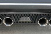 ACC® - Laser Mesh Black Stealth GM Licensed Series SS Exhaust Filler Panel for Stock Tips