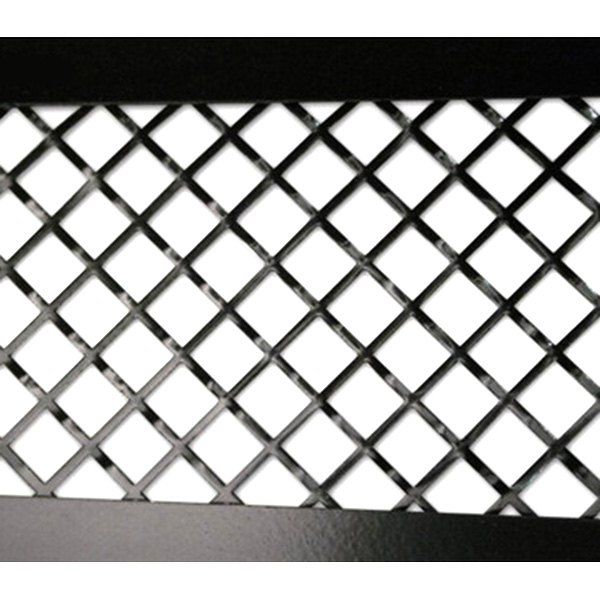 ACC® - Laser Mesh Stainless Steel Black Stealth Rear Side Vent Grilles