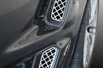 ACC® - Polished Laser Mesh Stainless Steel Side Vent Grilles