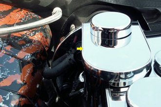 ACC® - Polished Stainless Steel Master Cylinder Cover with Cap Covers