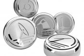ACC® - Polished Stainless Steel Executive Series Cap Cover Set