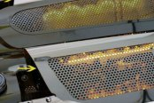 ACC® - Amber Illuminated Perforated SS Replacement Style Fuel Rail Covers