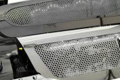 ACC® - White Illuminated Perforated Stainless Steel Replacement Style Fuel Rail Covers