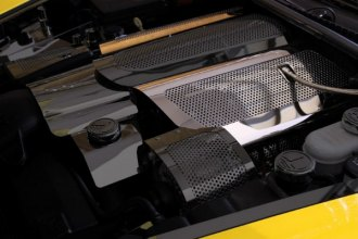 ACC® - Illuminated Perforated SS Replacement Style Fuel Rail Covers with Cap Cover