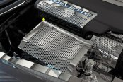 American Car Craft® - Perforated Polished Fuse Box Cover