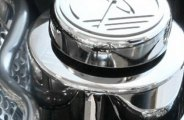 ACC® - Polished SS Steering Reservoir Cover with Cap Cover