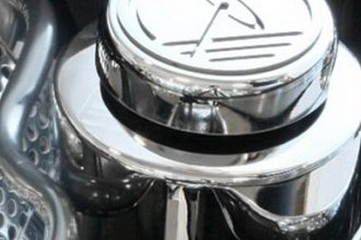 ACC® - Polished Stainless Steel Steering Reservoir Cover with Cap Covers