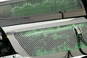 ACC® - Green Illuminated Perforated Stainless Steel Replacement Style Fuel Rail Covers