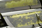 ACC® - Yellow Illuminated Perforated Stainless Steel Replacement Style Fuel Rail Covers