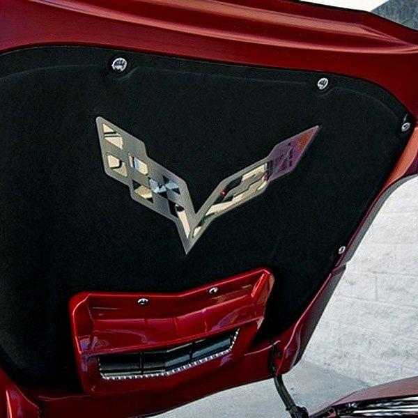 American Car Craft 053021 Hood Badge Emblem For Factory Pad