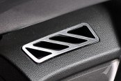 ACC® - Upper Dash Brushed Stainless A/C Vent Trim
