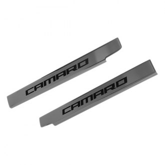 ACC® - Brushed Door Sills with Camaro Logo