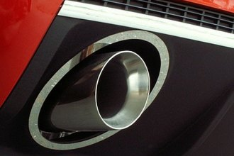 ACC® - Polished Stainless Steel Exhaust Bezels with Polished Exhaust Tips