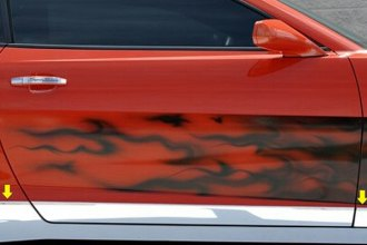 ACC® - Polished Stainless Steel Rocker Panel Deluxe Kit