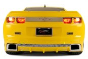 ACC® - Laser Mesh Polished Stainless Steel Rear Valance Trim