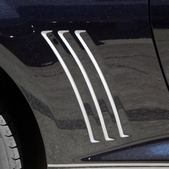 ACC® - Rear Side Fender Vent Grille Vinyl Inserts