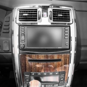 ACC® - Brushed Center Console Trim Plate