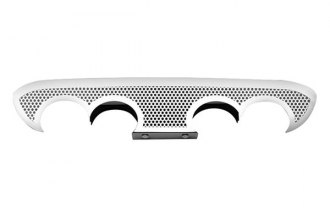 ACC® - Perforated Stainless Steel Exhaust Filler Panel with Polished Trim