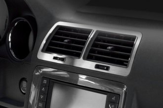 ACC® - Brushed Stainless Steel A/C Vent Trim