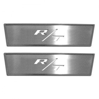 ACC® - GM Licensed Brushed Front Door Badges with R/T Cut Out