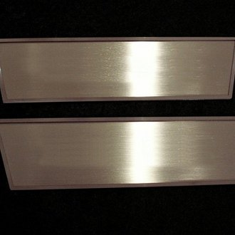 ACC® - Brushed Front Door Badges