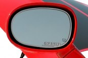 ACC® - Brushed Stainless Steel Side View Mirror Trim with 425HP Logo