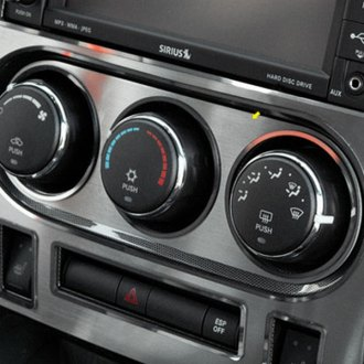 ACC® - Brushed A/C Control Trim Plate