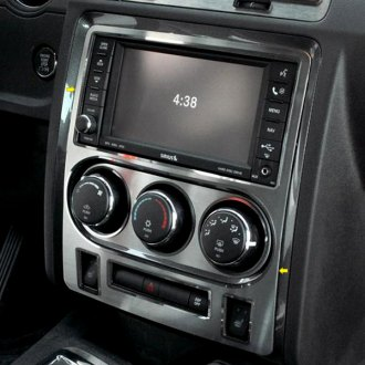 ACC® - Brushed Dash Center Trim Plate