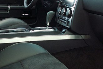 ACC® - Brushed Stainless Side Console Trim Plate