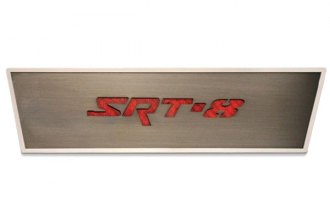 ACC® - Brushed Stainless SRT8 Door Badge Plate