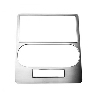 ACC® - Brushed Stainless Steel Dash Center Trim Plate