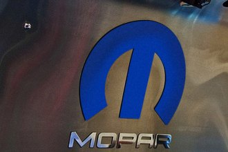 ACC® - MOPAR Trademarks Series Stainless Steel Hood with Blue Omega M Emblem and Mopar Letters