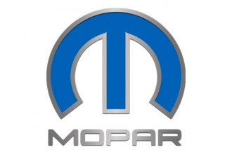 "ACC® - MOPAR Trademarks Series Stainless Steel Hood Omega ""M"" Emblem with Blue Inlay"