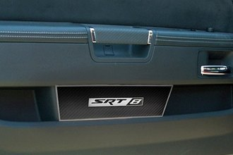 ACC® 151040 - Carbon Fiber Stainless SRT8 Door Badge Plate