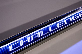 ACC® - Carbon Fiber Door Sills with Blue Illuminated