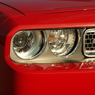 ACC® - Brushed Stainless Steel Headlight Trim