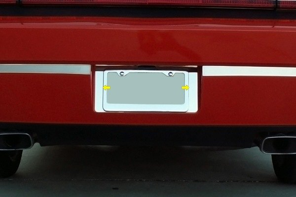 ACC® - Polished SS Rear Tag Plate