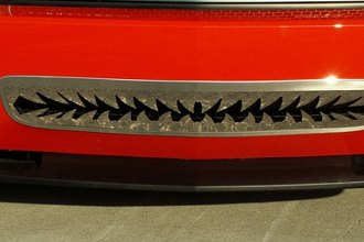 ACC® - Shark Tooth Style Polished Bumper Grille