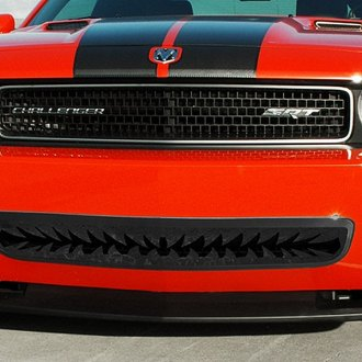 ACC® - Shark Tooth Style Black Powder Coat Bumper Grille
