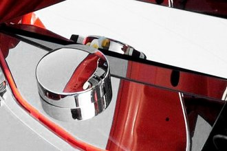 ACC® - Polished Stainless Steel Anti Lock Brake Cover with Cap