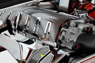 ACC® - Polished Perforated Stainless Steel Fuel Rail Covers