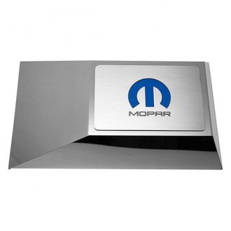 ACC® - Brushed Fuse Box Cover Top Plate with Mopar M Logo