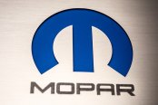 ACC® - Brushed Stainless Steel Fuse Box Cover Top Plate with Mopar M Logo