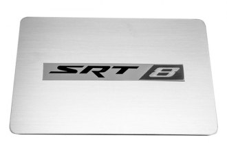 ACC® - SRT 8 Logo on Brushed Stainless Steel Fuse Box Cover