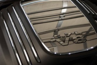 ACC® - Polished Stainless Steel Engine Shroud 5.7L V8 Letters Set
