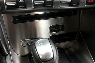 ACC® - Brushed / Polished CD Player Trim Plate