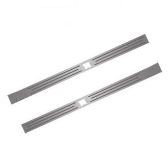 ACC® - Brushed Inner Door Sills with Polished Lines